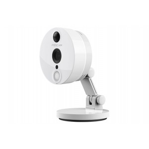 Caméra IP Foscam C2 WiFi/HD IR Grand Angle (Blanc)